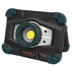 Lampa akumulatorowa Halogen LED Flash 1500lm RE Mareld