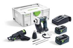 Akumulatorowa wkręatarka do suchej zabudowy DWC 18-4500 Li 5,2-Plus AIRSTREAM FESTOOL