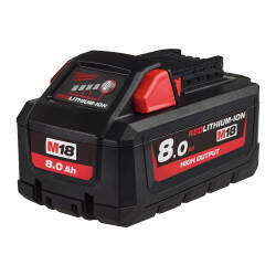 M18B8 Akumulator 18V 8 Ah HIGH OUTPUT MILWAUKEE
